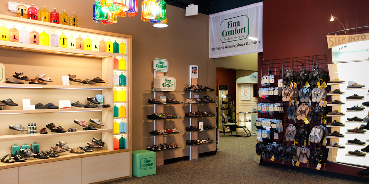 Kansas City's best selection of orthopedic and comfort shoes.